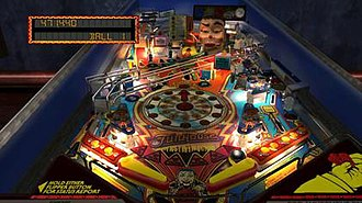 The Pinball Arcade - Screenshot of the table FunHouse from the PlayStation 4 version.