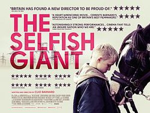 The Selfish Giant (2013 film) - UK theatrical release poster