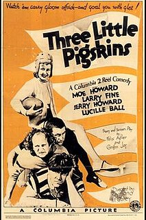 <i>Three Little Pigskins</i> 1934 film by Ray McCarey
