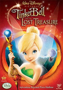 Tinker Bell and the Lost Treasure (2009) (In Hindi) MZP - Kristin Chenoweth, Mae Whitman, Lucy Liu, Pamela Adlon, Jesse McCartney, Anjelica Huston, Grey DeLisle, Raven-Symone, Jane Horrocks
