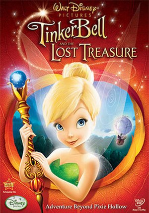 Tinker Bell and the Lost Treasure - DVD cover