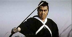 Tomisaburo Wakayama - Wakayama appearing as Ogami Ittō in the Lone Wolf and Cub movie series