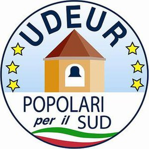 Union of Democrats for Europe - Image: UDEUR POPOLARI PER IL SUD