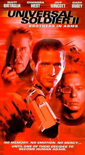 Universal Soldier II: Brothers in Arms - Image: Universal Soldier II Brothers in Arms