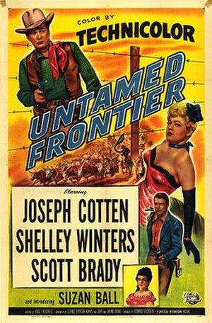 Untamed Frontier - Theatrical poster