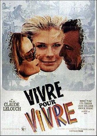 Live for Life - original film poster