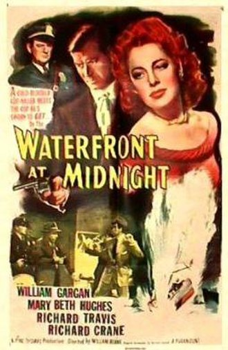 Waterfront at Midnight - Theatrical release poster
