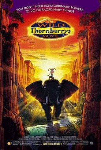 The Wild Thornberrys Movie - Theatrical release poster