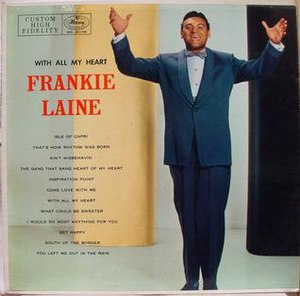 With All My Heart (Frankie Laine album) - Image: With All My Heart (Frankie Laine album)