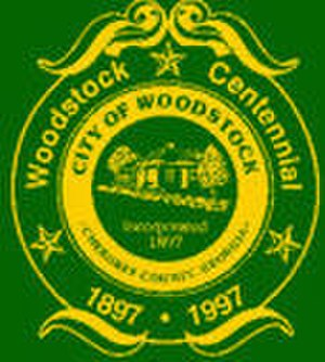 Woodstock, Georgia - Image: Woodstock city seal