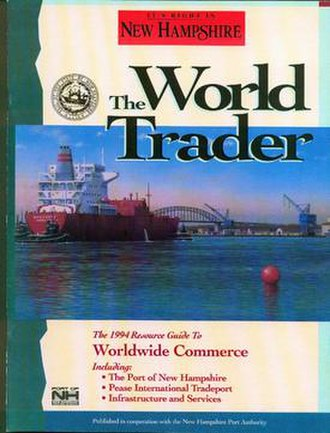 New Hampshire (magazine) - Cover of The World Trader