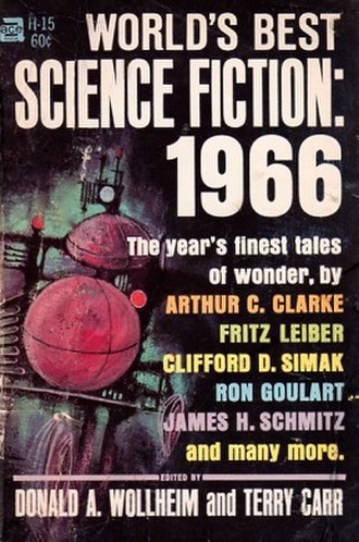 World's Best Science Fiction: 1966 - Cover of first edition, 1966