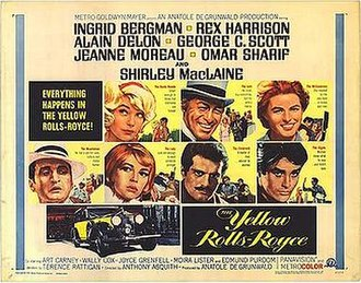 The Yellow Rolls-Royce - Film poster by Howard Terpning.
