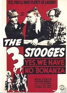 <i>Yes, We Have No Bonanza</i> 1939 film by Del Lord