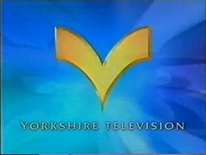 ITV Yorkshire - The Yorkshire Chevron logo as used from 4 November 1996 to 8 March 1998, throughout the Channel 3 era.