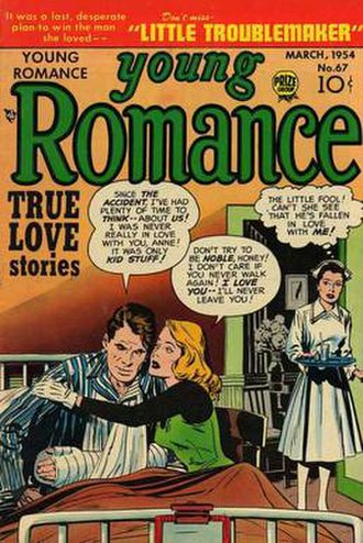Young Romance - Image: Young Romance Issue 67 (Crestwood Prize)