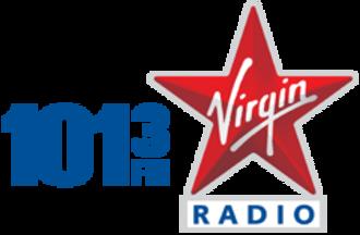 CJCH-FM - Image: 101.3 Virgin Radio Logo Halifax