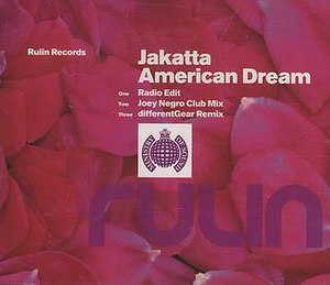 American Dream (Jakatta song) - Image: 1 Jakatta American Dream