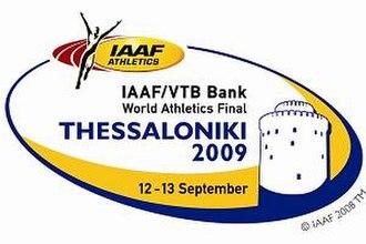 2009 IAAF World Athletics Final - Image: 2009 IAAF World Athletics Final logo