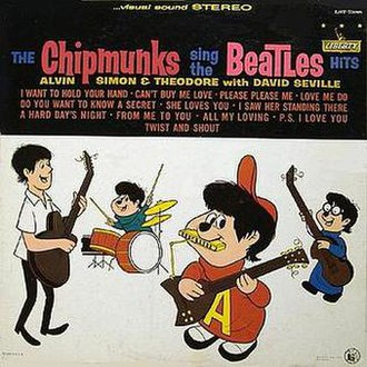The Chipmunks Sing the Beatles Hits - Image: 200px Chipmunks Beatles US