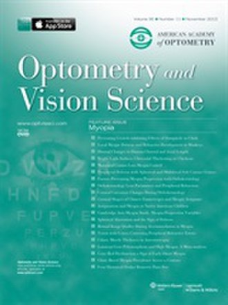 Optometry and Vision Science - Image: 2013 cover Optom Vis Sci