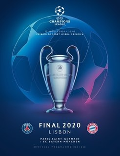 2020 UEFA Champions League Final The final of the 2019–20 season of the UEFA Champions League