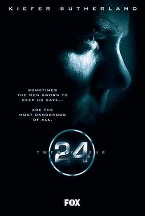 24 (season 2) - Promotional poster