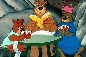 The Three Bears (Looney Tunes) - Image: 3bears cartoon cel