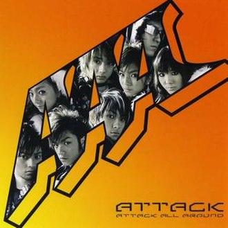 Attack (AAA album) - Image: AAA ATTACK