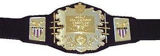AWA World Heavyweight Championship - Image: AW Achampbelt