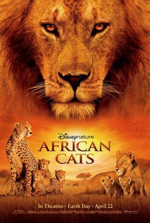 African Cats - Theatrical release poster