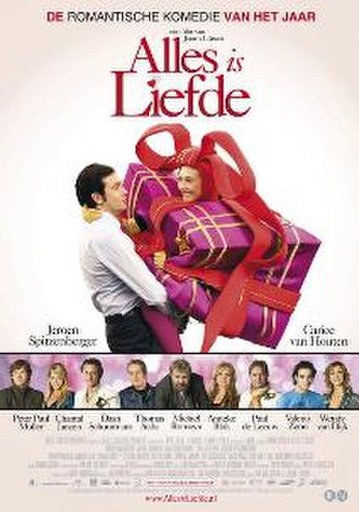 Love is All (2007 film) - Original film poster for Alles is Liefde
