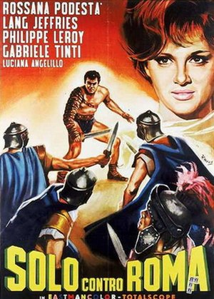 Alone Against Rome - Image: Alone Against Rome poster