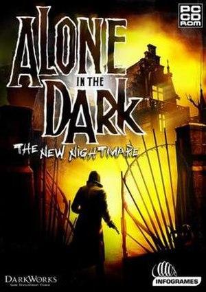 Alone in the Dark: The New Nightmare - North American box art