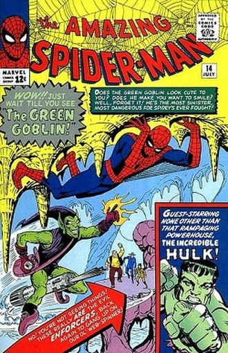 Green Goblin - Image: Amazing Spider Man no, 14 (1964) (cover)