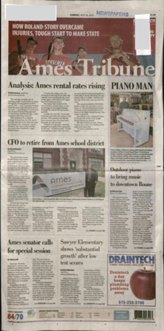 Ames Tribune - The Ames Tribune, Sunday, July 26, 2015
