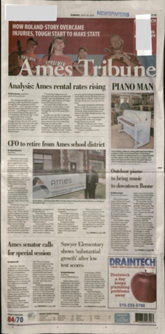 Ames Tribune - The Ames Tribune, Sunday, July 26, 2015
