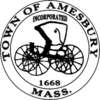 Official seal of Amesbury, Massachusetts