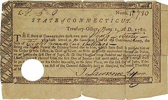 1st Rhode Island Regiment - Image: An African American's Pay Warrent 1780