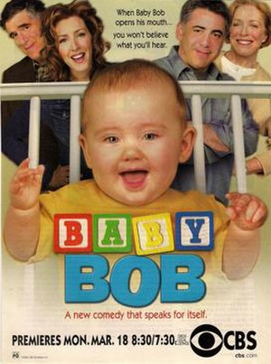 Baby Bob - Series premiere print advertisement