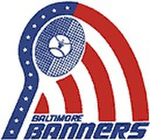 Baltimore Banners - Image: Baltimore Banners WT Tlogo