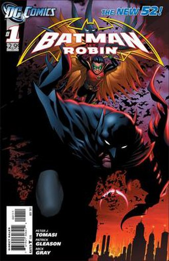Batman and Robin (comic book) - Image: Batman and Robin Vol 2 1