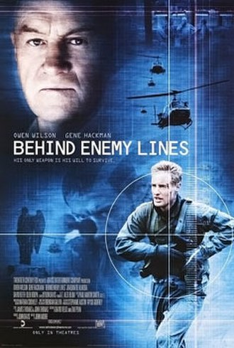 Behind Enemy Lines (2001 film) - Theatrical release poster