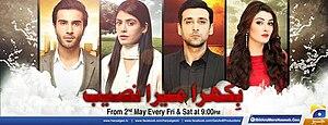 Bikhra Mera Naseeb - Promotional poster