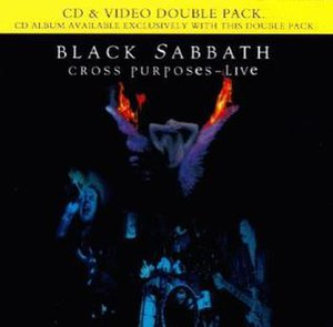 Cross Purposes Live - Image: Black Sabbath Cross Purposes Live