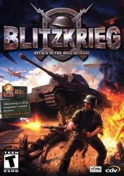 Blitzkrieg game cover