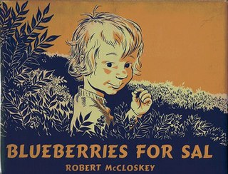 <i>Blueberries for Sal</i> childrens book by Robert McCloskey
