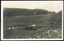 Body of a dead soldier, Battle of Bitola.jpg