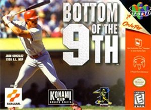 Bottom of the 9th - North American Nintendo 64 cover art