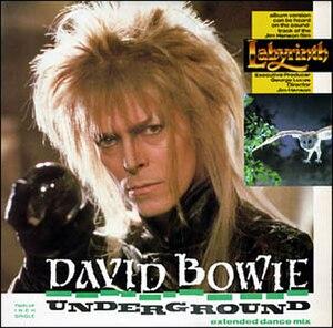 Underground (David Bowie song) - Image: Bowie Underground